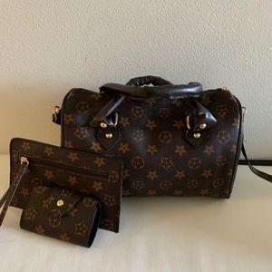 Handbags - Purse 3 pieces set